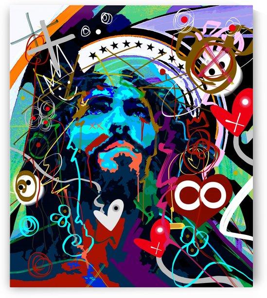 Blue Jesus by GABA
