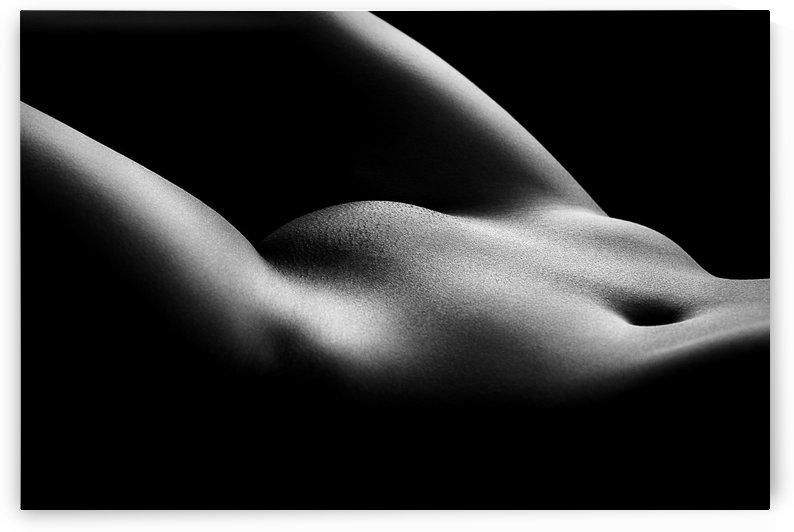 Nude woman bodyscape 36 by Johan Swanepoel
