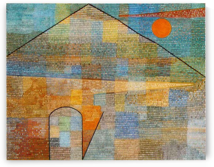 To the parnassus by Paul Klee