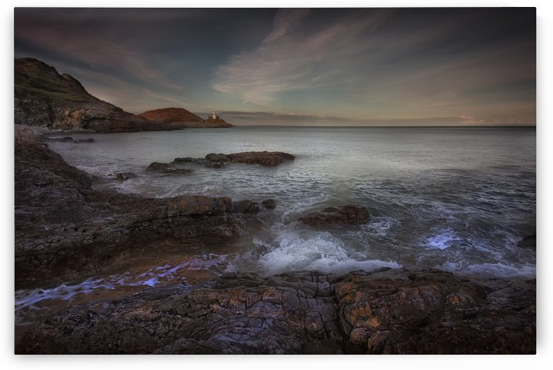 Evening at Bracelet Bay by Leighton Collins