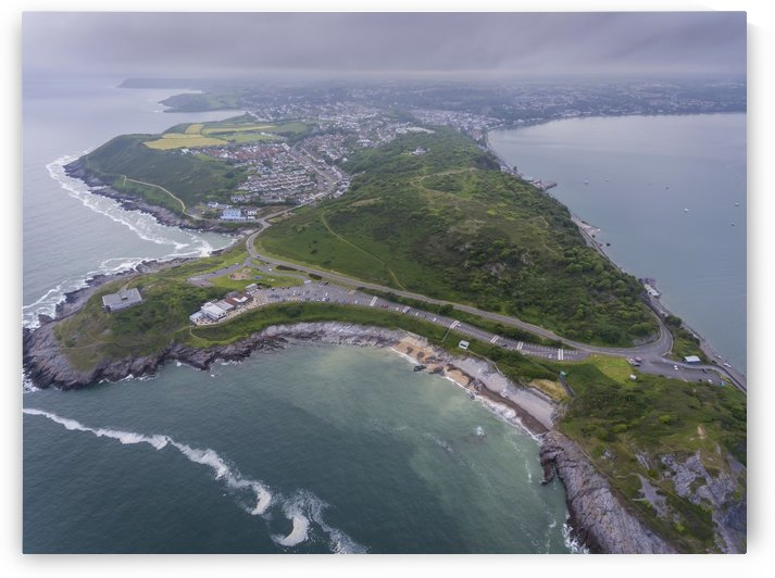 Bracelet Bay and Mumbles Hill by Leighton Collins