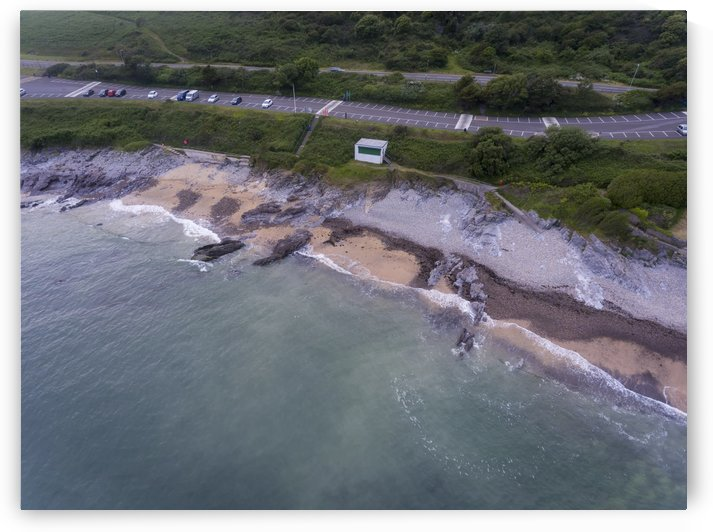Bracelet Bay and car park by Leighton Collins