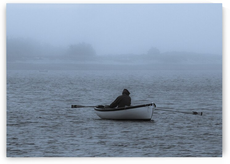 Wellfleet Rower by Dave Therrien
