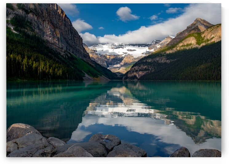Lake Louise View 27 by Dave Therrien
