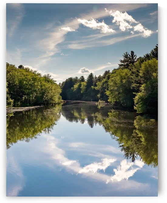 Nashua River Symmetry by Dave Therrien