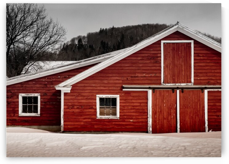 Closed for the Winter by Dave Therrien