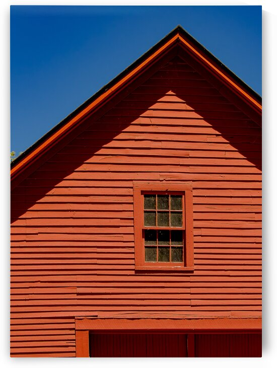 Theres a Red House Over Yonder by Dave Therrien