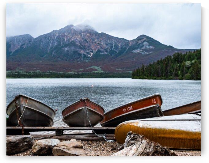 Pyramid Lake - Jasper 1 by Dave Therrien