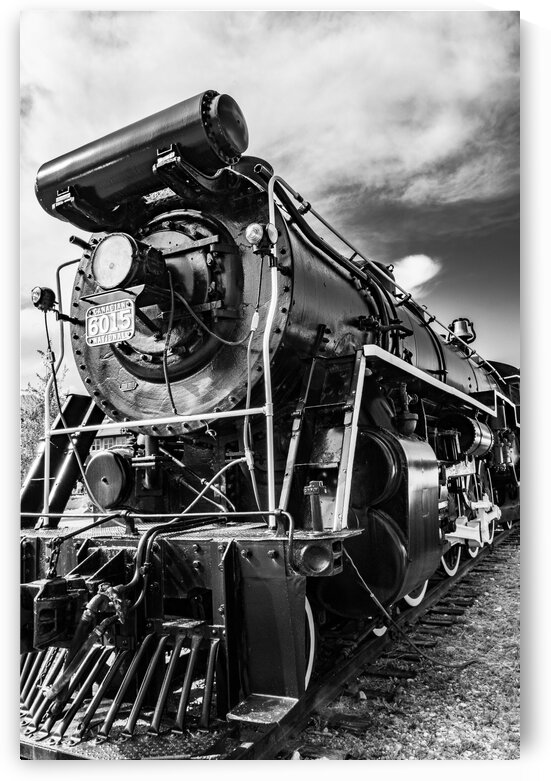 Canadian Locomotive 6015 h by Dave Therrien