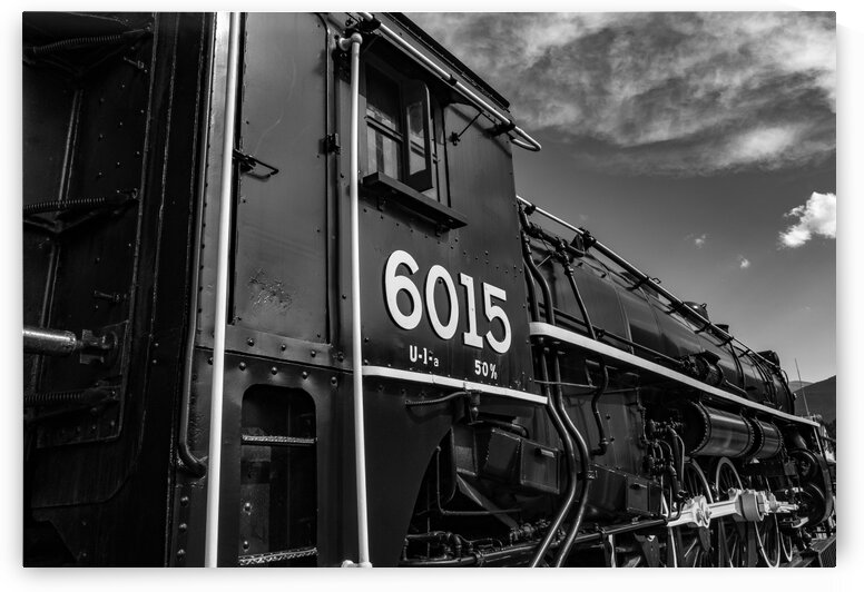 Canadian Steam Locomotive 6015 by Dave Therrien