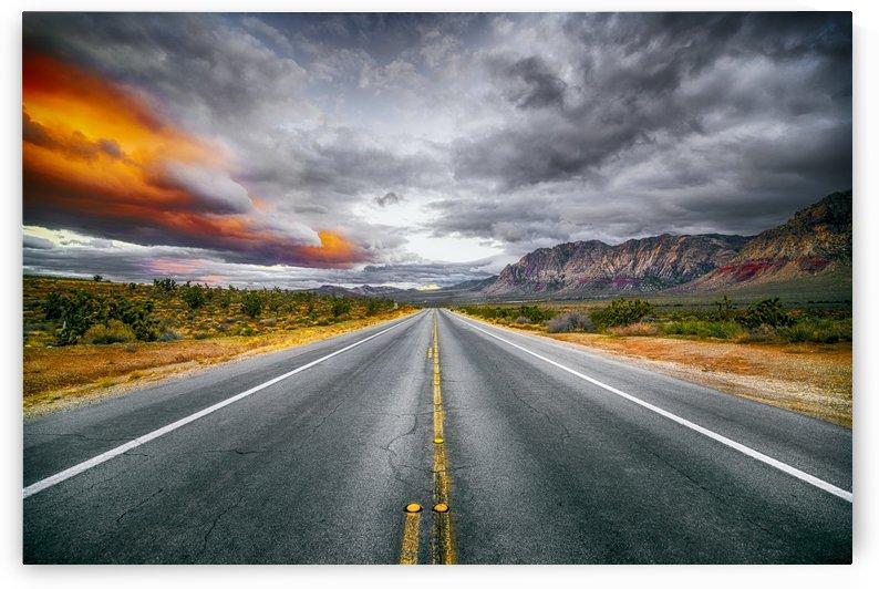 Red Rock Canyon  by Luis Bonetti