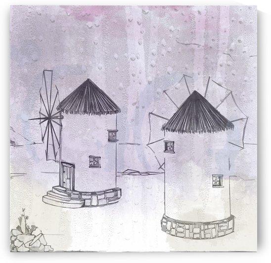 windmill twins 12x12 1 1 by ANASTASIA SKARLATOUDI
