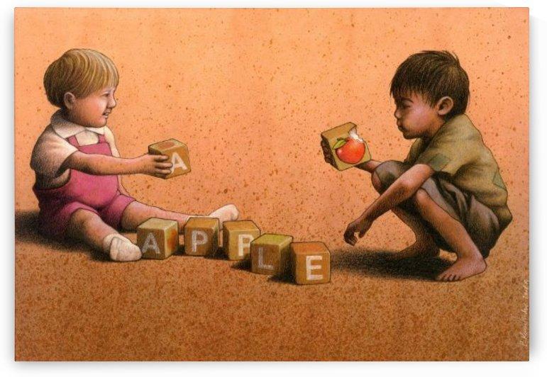 Apple by Pawel Kuczynski
