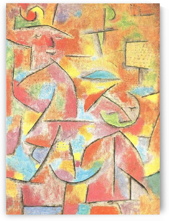 Child and aunt by Paul Klee