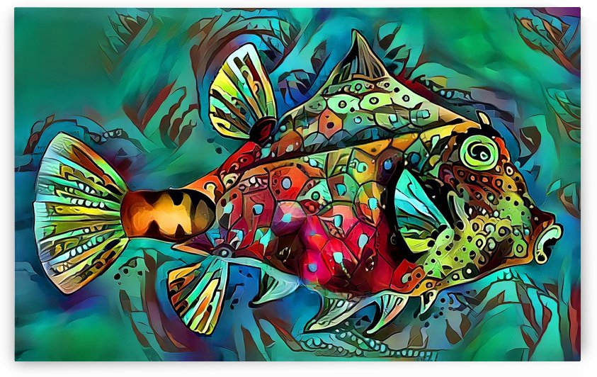 One Funky Fish by HH Photography of Florida