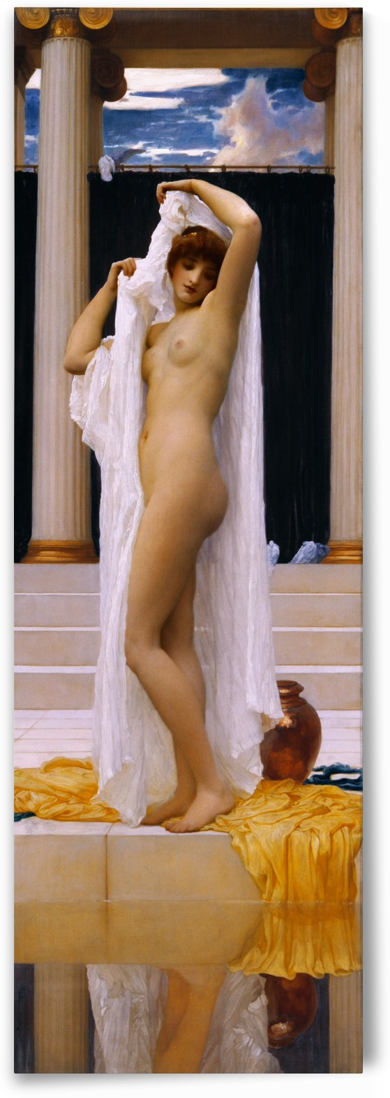The Bath of Psyche by Frederic Leighton by xzendor7