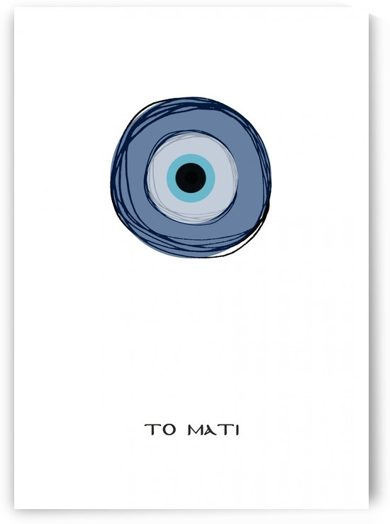 The eye by ANASTASIA SKARLATOUDI