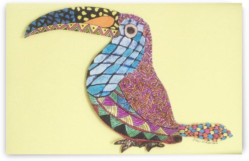 Toucan by Zaramar Paintings