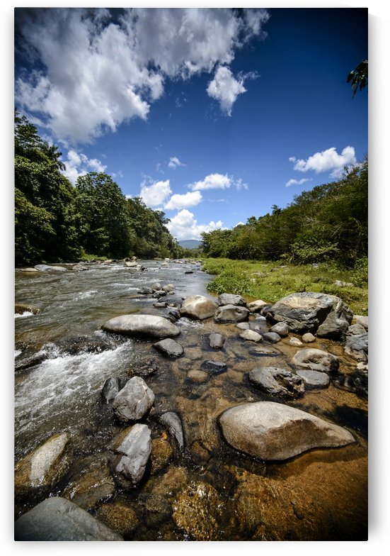 River Flow at the Dominican Republic by Luis Bonetti