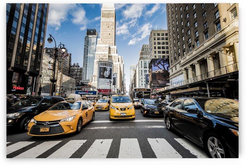 New York City Taxi Mayhem  by Luis Bonetti