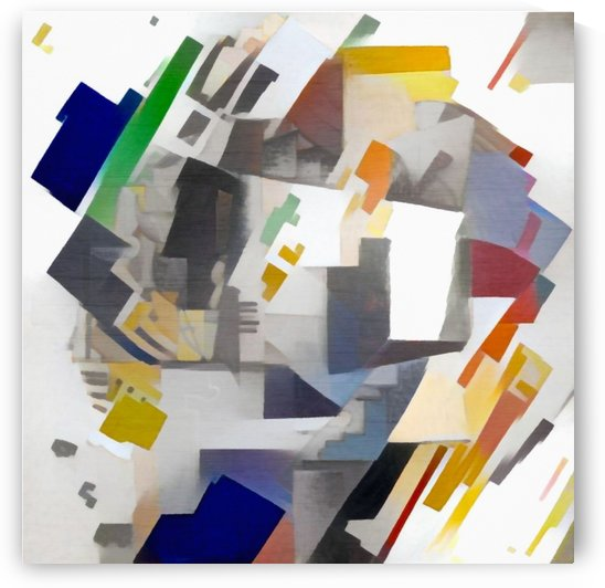 Geometric Abstract by Bruce Rolff
