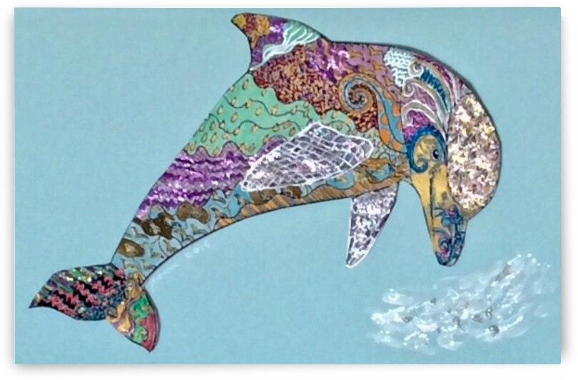 Delphinus  by Zaramar Paintings