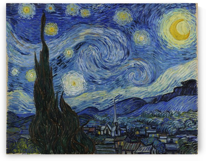 Vincent Van Gogh: The Starry Night HD 300ppi by Stock Photography