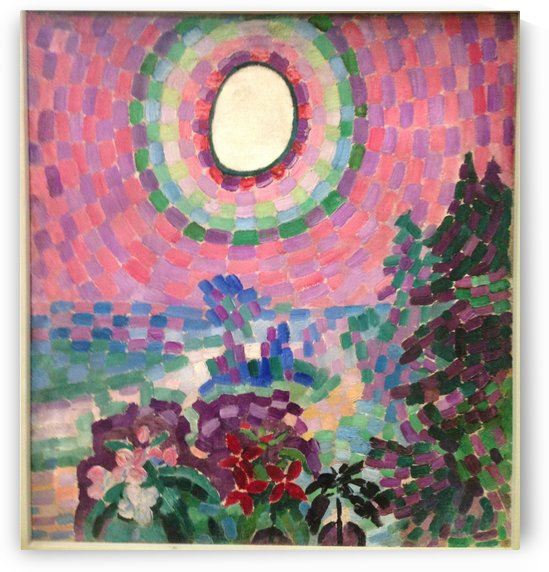 Landscape with disc by Robert Delaunay