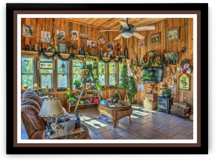 Man Cave at Christmas - HDR by Digicam
