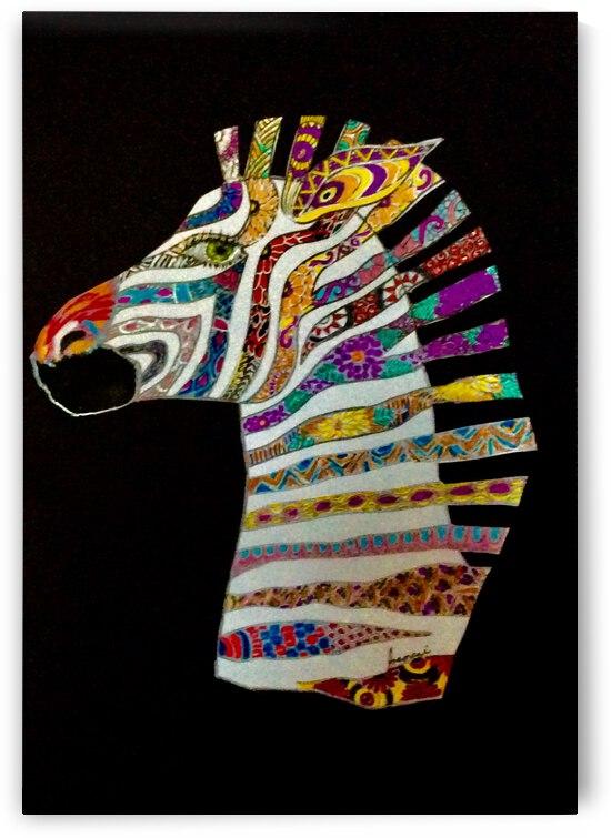 stripes  by Zaramar Paintings