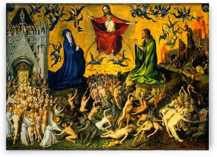 Stefan Lochner: Last Judgement HD 300ppi by Stock Photography