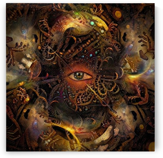 Psychedelic Vision by Bruce Rolff