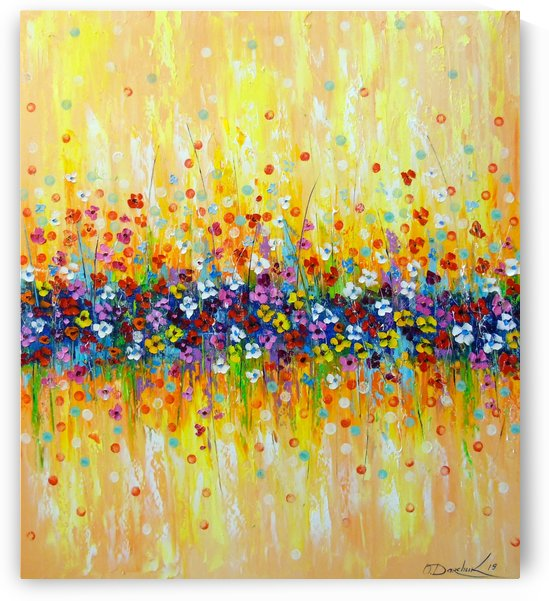 Gentle abstraction of colors by Olha Darchuk