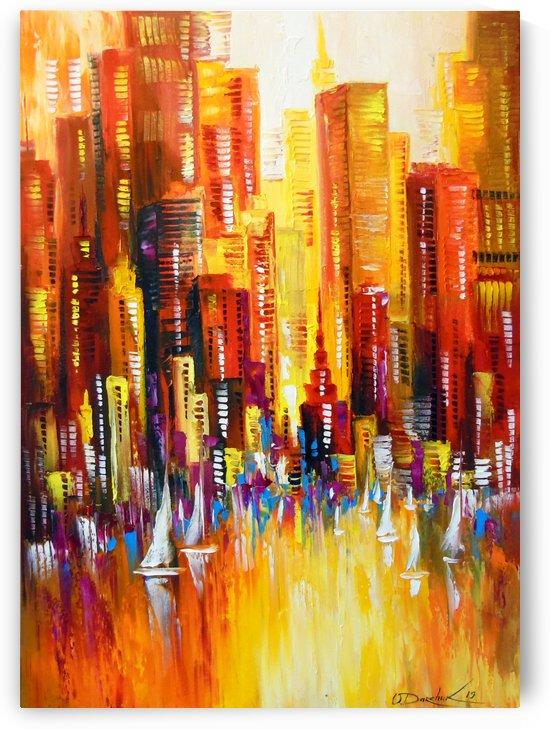 Sunny new York by Olha Darchuk