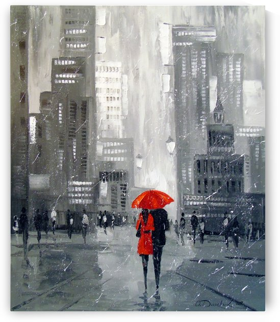 Walk in the metropolis by Olha Darchuk