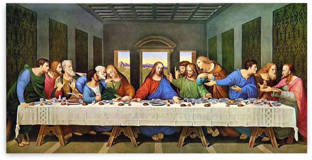 Leonardo da Vinci. The Last Supper HD 300ppi by Stock Photography