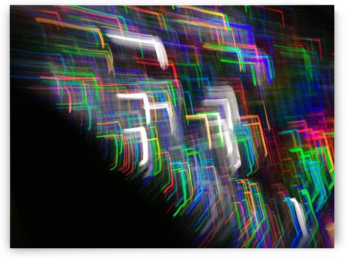 Light Arcs 85 by Leah Spengler