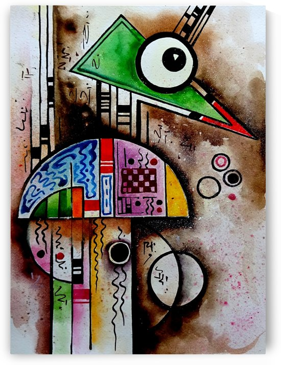 Art Therapy   Compoition 7 by Sumit Datta