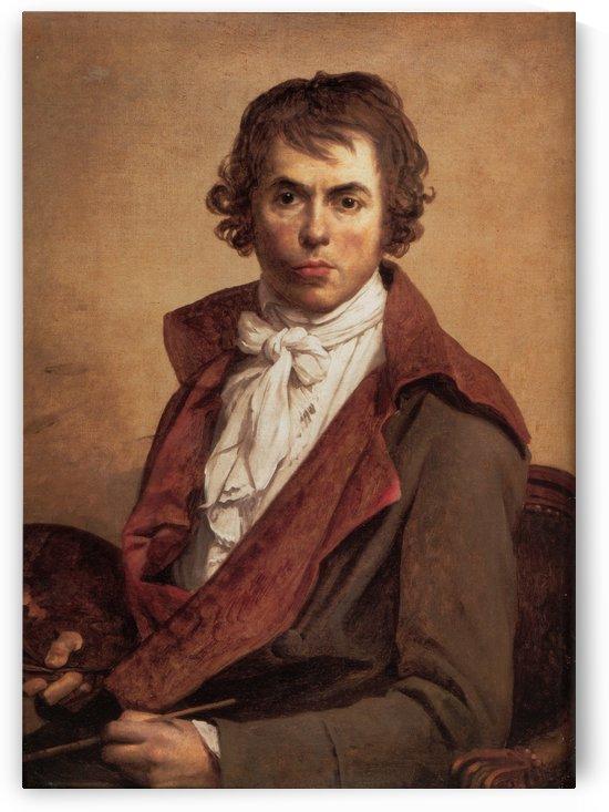 David Self Portrait by Jacques-Louis David