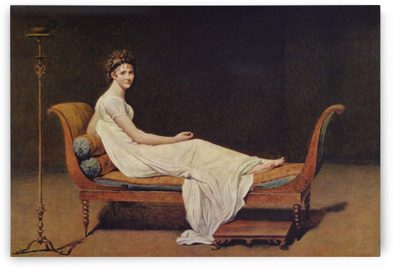 A goddess by Jacques-Louis David