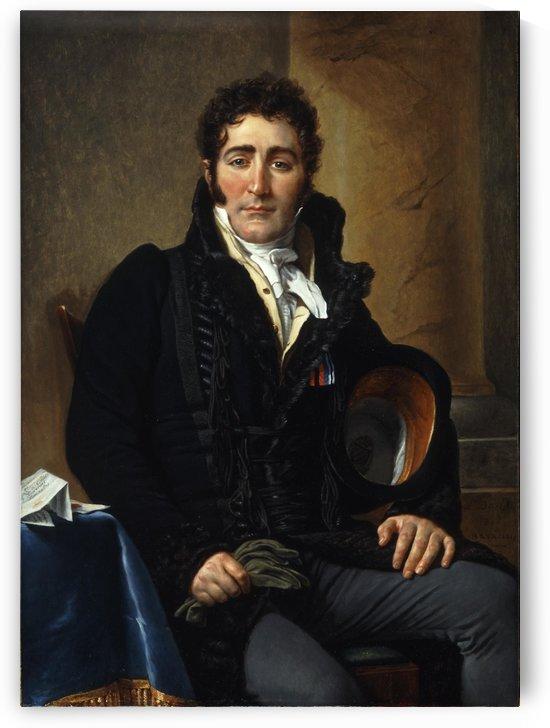 Portrait of Greve by Jacques-Louis David