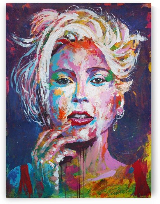 Gaga01 Portrait Art - Tadaomi - by Tadaomi Kawasaki