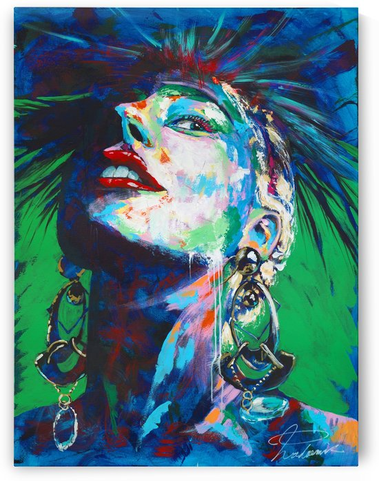 Gaga02 Portrait Art - Tadaomi - by Tadaomi Kawasaki