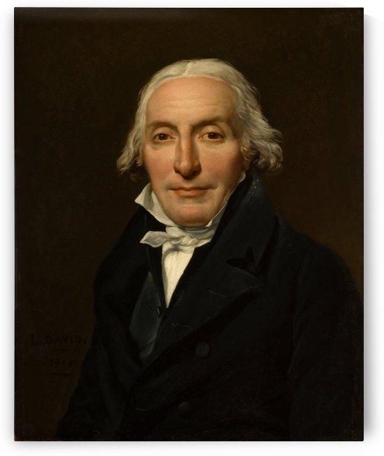 Portrait of Jean Pierre by Jacques-Louis David