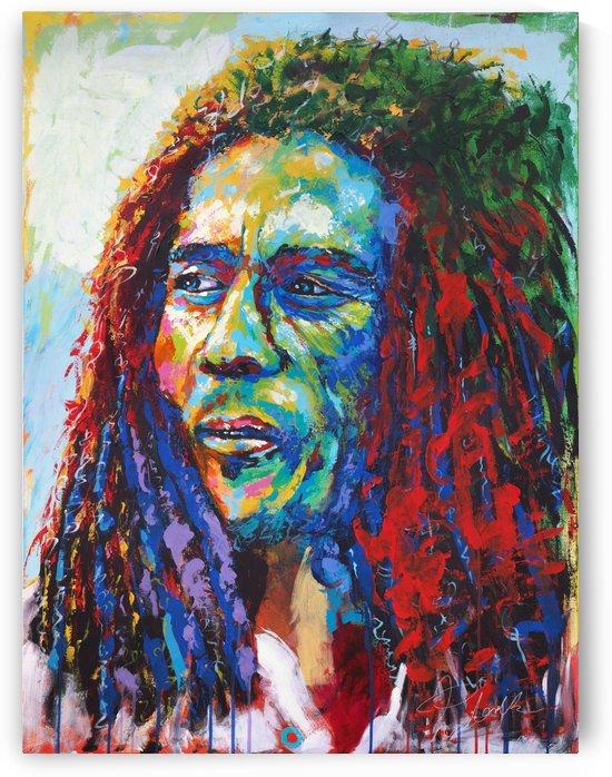 Bob Marley  Portrait Art - Tadaomi - by Tadaomi Kawasaki