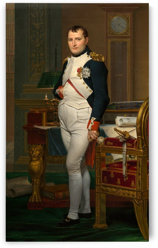 The Emperor Napoleon by Jacques-Louis David