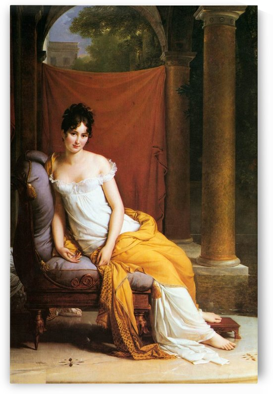 Madame Recamier by Jacques-Louis David