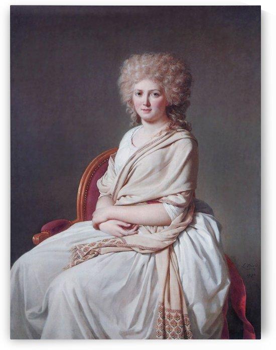 Portrait of Anne Marie by Jacques-Louis David