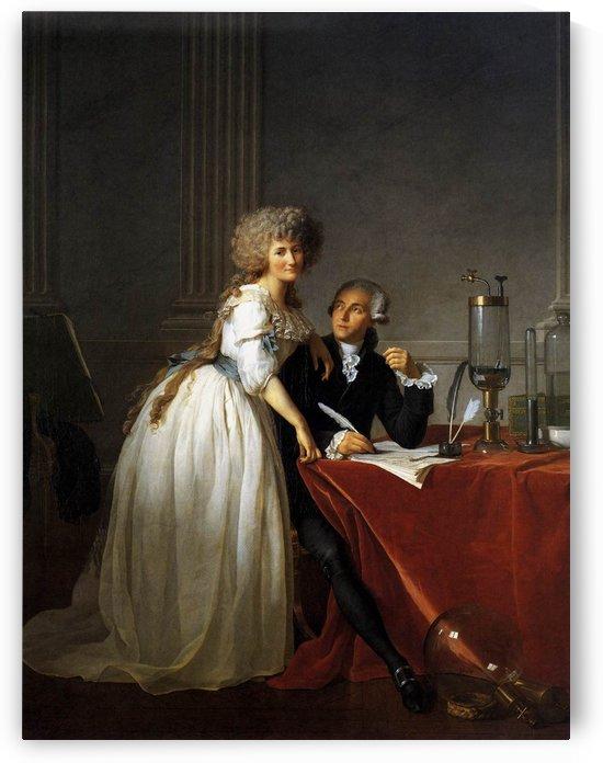 Portrait of Antoine Laurent and Marie Anne Lavoisier by Jacques-Louis David