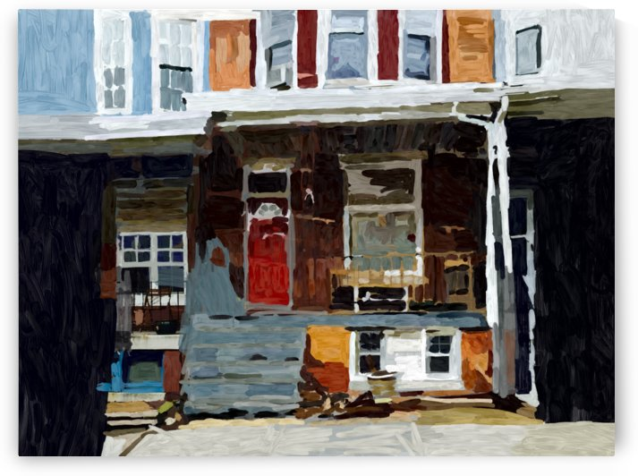 Hampden Rowhouse by Sarah Butcher